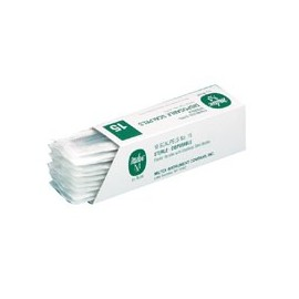 Scalpels Disposable Sterile N°11 10/Bx