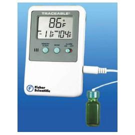 Thermom Digital Refr/Free w/Alarm Ea